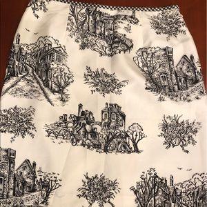 🆕💗😱💗Harris Wallace Toile Skirt‼️💜❤️💗